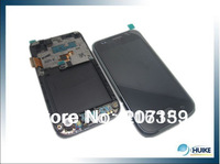 For Samsung i9003 Galaxy SL lcd digitizer with middle plate frame 100% gurantee Original Just for VIP Free shipping