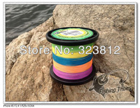 wholesale-free shopping- five color braided fishing line   dyneema 2000m  10LB15LB20LB30LB40LB50LB65LB80LB100LB