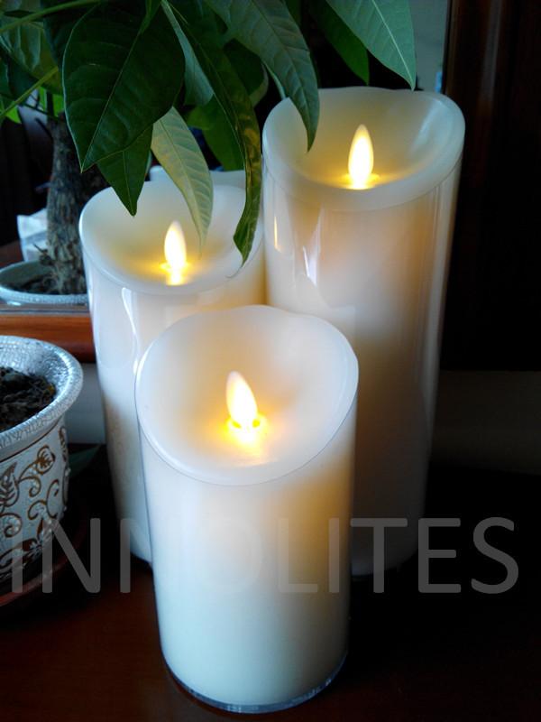 2014 Wholesale! Amazing 1,500hrs. Batteries Lifespan! Free Shipping 12pcs. Flame-replicating Candle, Birthday Wedding Restaurant(China (Mainland))