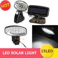 15 LED Solar light Sensor Motion Power Detector Security waterproof Spotlight Lamp,Outdoor Garden LED Solar Lights