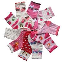 Kid's socks female child socks princess slip-resistant socks laciness baby girl socks 1 - 3 years baby