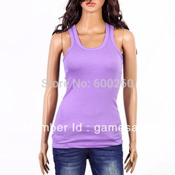 2013 Hot sale unisize sleeveless T-shirt sex lady vest/nice free shipping #5141