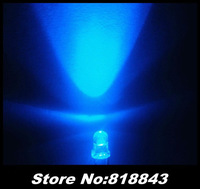 1000pcs New 3mm Round Blue Ultra Bright Water Clear LED Lamp