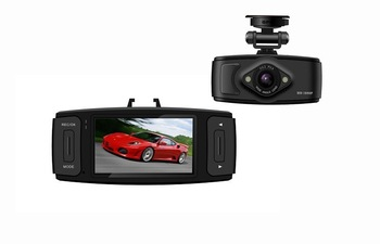 "Car DVR Camera L6000 with 2.7"" LCD + Ambarella Clip + G-Sensor + Full HD 1920*1080P 30FPS + H.264 ! Free Shipping !"
