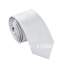 New Mens Stylish High Quality Skinny Solid Color Tie Best Seller!(China (Mainland))