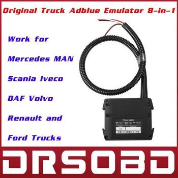 New Original Truck Adblue Emulator 8-in-1 with Programing Adapter Truck AdBlue Remove Tool AdBlue Emulator System