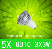5pcs CREE LED GU10 6W 9W 3x3W High power Spot Light Bulb Spotlight spot lamp Downlight