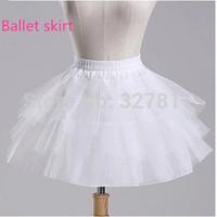 Ballet boneless short skirt evening dress short design panniers design  pleated pannier