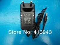 High quality 50pcs AC 100V-240V Converter Adapter DC 12V 2A CCTV Camera Power Supply EU plug 5.5mm x 2.1mm +  Free shipping