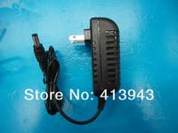 High quality 5PCS AC 100V-240V Converter Adapter DC 12V 2A CCTV Camera Power Supply US plug DC 5.5mm x 2.5mm Free shipping