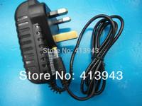 AC 100V-240V Converter Adapter DC 12V 2A Power Supply UK Plug 15PCS+ Free shipping DC 5.5mm x 2.5mm 2000mA