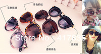 Free shipping 2013 new fashion vintage high quality anti-UV sunglasses woman sunglasses for women