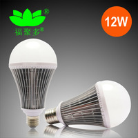 Free Shippng Wide Range Of Available Input Voltage 85-265V AC  Elegant Appearance E27 12W Led Bulb Light