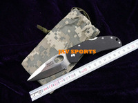 Navy K628 folding knife,440C,58HRC,G10 outdoor knives+Free shipping(SKUJAV010826)
