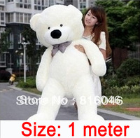 High quality Low price1 meters Filled Plush teddy toys  teddy doze bear big embrace bear doll lovers christmas gifts birthday