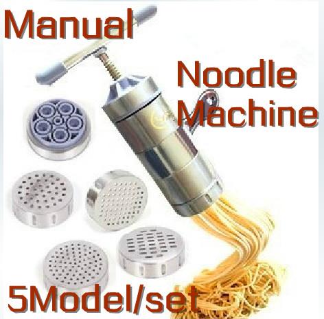 Spedizione gratuita inox + multiuso per la casa manuale premendo macchina della tagliatella pasta pasta maker cucina strumento + spremiagrumi