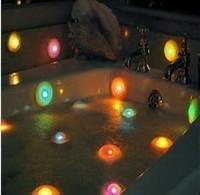 Free Shipping 5pcs  floating bath crock lamp can change 7 colours Romantic bath So Nice bath