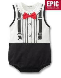 CPAM Free shipping Baby boy tuxedo boy romper,Baby jumpsuit, Baby clothes baby romper gentleman romper 1pcs/lot(China (Mainland))