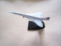 Free shipping Model plane  SUTC ZSB23 Concorde supersonic airliners toy model