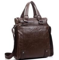 Mens Genuine Leather Bags Handbags Bag Men 2013 High Quality Tote Handle Messenger Shoulder Bags for men