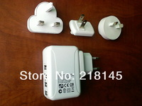4 USB travel charger for iphone&iPad  free shipping