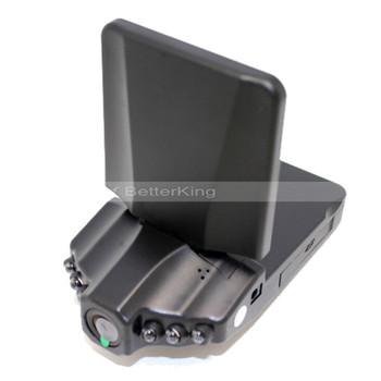 """Car DVR Original DVR-027 H198A Car Black Box with 1440*1080P + 2.5"""" Screen + HDMI + H.264 + 6 IR lights + Free Shipping!"""