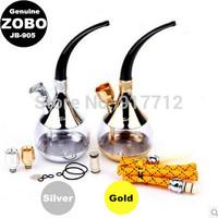 Luxury genuine dual-purpose models ZOBO two genuine Hookah hookah water pipe, snuff essential health