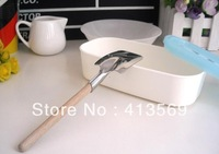 Wholesale creative stainless tableware shovel spoons,self-reliance spoon (livelihood and work)