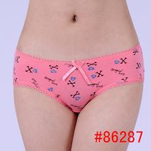 cotton panties beauty printed