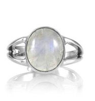 Freeshipping wholesale 20pc a lot platinum plated  Moonstone ring VAMPIRE TWILIGHT Bella  ring  BB024
