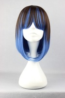 40cm Long Multi-Color Beautiful lolita wig Anime Wig