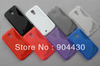 FREE SHIP 30pcs For Samsung i9500 Galaxy S4 GT-i9500 TPU hybrid phone case + 30pcs screen films (with retail pack)