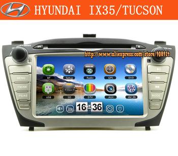 Free Shipping Special Car DVD For hyundai tucson ix35 Gps Radio car audio