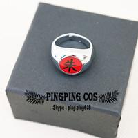 Naruto Cosplay Akatsuki Uchiha Itachi Ring(Free Shipping).