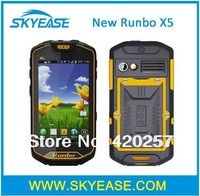"New Runbo X5 Rugged WCDMA 3G Smartphone IP67 Waterproof Dustproof MTK6577 1GHz 4.5"" Display Android 4.0 8MP Camera PTT WIFI GPS"