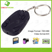 Car Key Camera Mini Hidden Cam DVR 808 30Pcs/Lot China Post Free Shipping