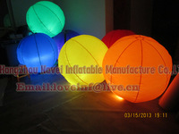 1M Inflatable balloon with light hang ceiling for Party Decoration/bar/stage/event decoration
