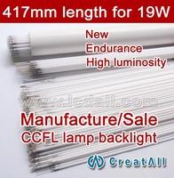 Free shipping 20pcs 19'' inch wide sreen LCD CCFL lamp backlight tube,417MM 2.4mm, 19 inch wide sreen CCFL light