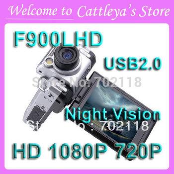 Car DVR Recorder F900LHD With 2.5'' LCD(4:3) 1080P USB2.0 Wide Angle 120 degree Night Vision Car Camera Dash Cam Russian no box