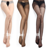 Brand Langsha Openwork Stockings The club Sexy  Lace Crotchless Pantyhose Tights Women Lace Black Girls Rock High Quality