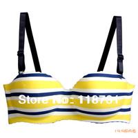 Free shipping  new style Seamless One-piece push up Stripes  Women Underwear Set Wholesale& retail