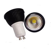 Promotion!!!  6pcs  GU10 COB LED Spotlight Bulbs 5W 60 Degree CE & RoHS 3 Years Warranty
