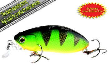 Free shipping Fishing Lure Crankbaits Bai monster crank 60mm 9g-5/color-5/pcs(NEW)