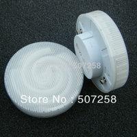 2pcs/lot wholesale, free shipping, 220v GX53 lamp 7w 9w 11w 13w CFL cabinet lights, under cabinet lamp, display lighting  201310