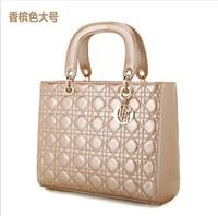 Free shipping new arrival 2012 female bag plaid women's handbag cross-body shoulder bag