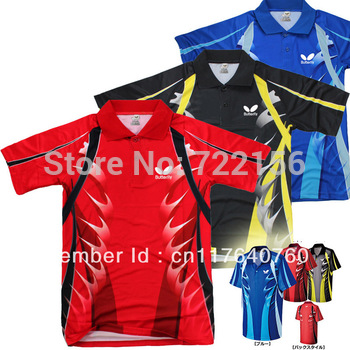 free shipping ! Butterfly 2013 NEW table tennis shirt fund rag shirt   No.44180