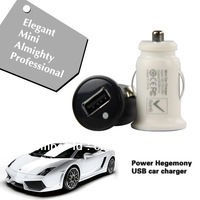 Mini Universal Mobile HY USB Car Adapter Charger for iPhone 4s ipod Samsung galaxy Phone 200pcs/lot Free Shipping