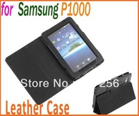 Leather Case Cover Stand Protective Case for Samsung Galaxy Tab P1000