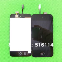 AP-05-PT005 Replacement For ipod Touch 4 LCD Display+ Touch Screen Glass Complete Assembly Original LCD Black Color Free Ship