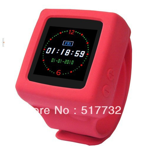 Cheap candy-colored multi-function digital watches mp3/mp4/BOOK/FM / digital photo frame function watch(China (Mainland))